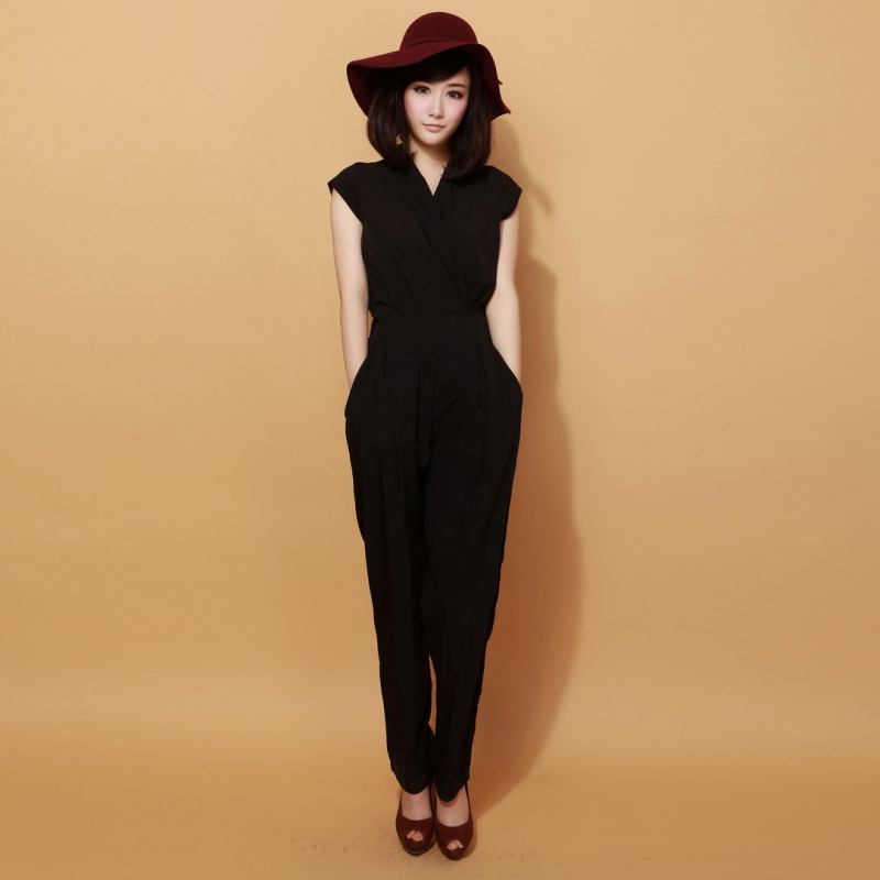 New Jumpsuit Womens Overall Sexy Party Evening High Waist Jumpsuit Pants Coveralls 3 colors XXXL Plus Size ZT7 Y2