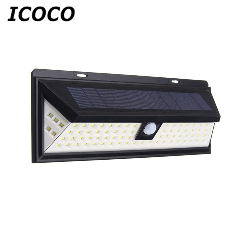 Waterproof 80 LED Solar Motion Sensor Security Light Ultra-Bright for Driveway Yard Patio Garden Emergency Lighting