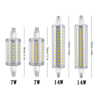 4PCS Lot Dimmable Bulb R7S LED Corn 2835 SMD 78mm 118mm Light 7W 14W Replace Halogen