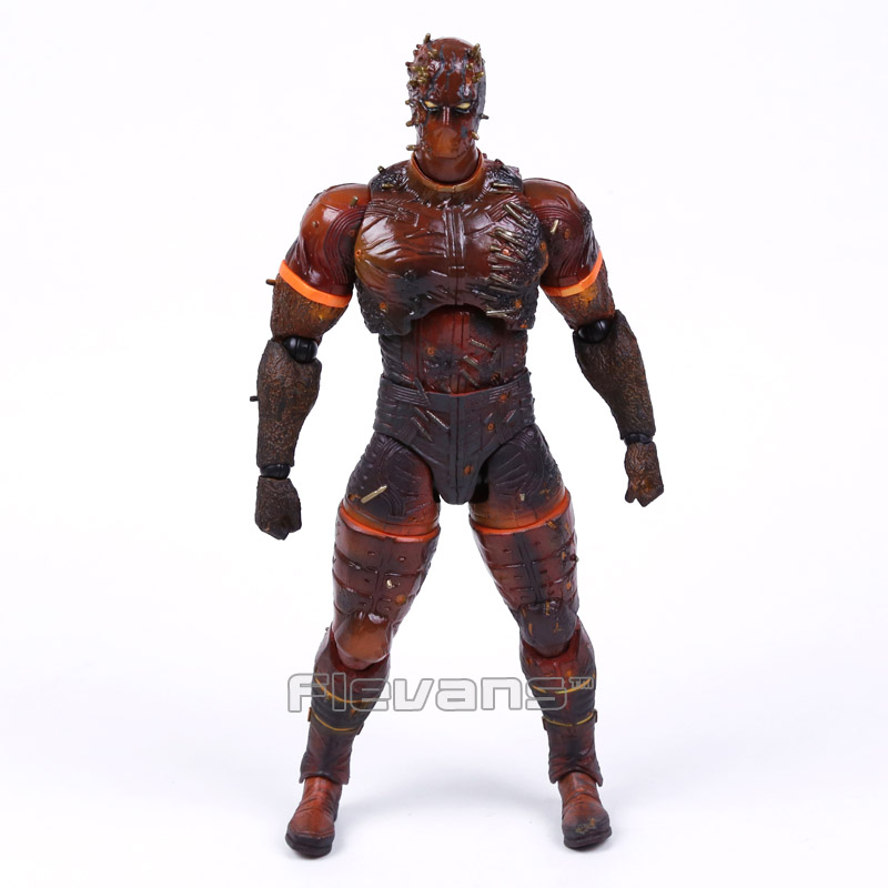 Play Arts KAI Metal Gear Solid V The Phantom Pain MAN ON FIRE PVC Action Figure Collectible Model Toy 25cm play arts kai metal gear solid 5 the phantom pain quiet venom snake pa pvc action figure doll toys kids gift brinquedos