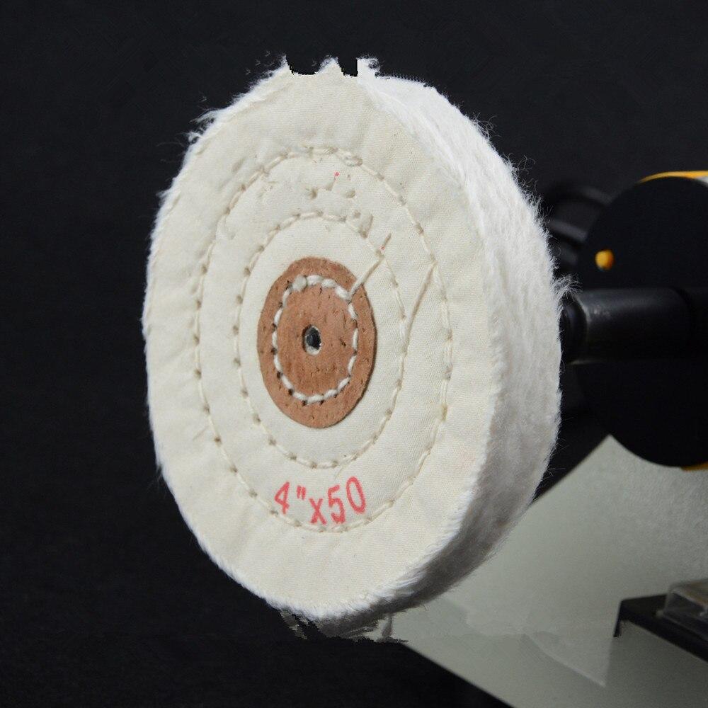 3 шт. 4 ограночного 4*50 белый абразивный диск для скамьи шлифовальная 5 мм Внутреннее отверстие для металлические украшения алюминиевый дере...