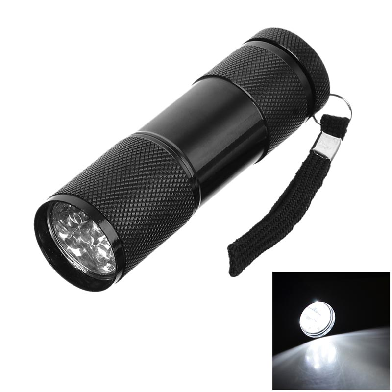 UltraFire Compact 9 LED Flashlight Mini Flashlight Torchlinterna Led Zaklamp Lampe De Poche Taschenlampe Torcia Led Linterna Led