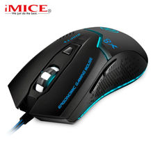 iMice Wired Gaming Mouse 3200DPI 6 Buttons Professional Optical Mouse  USB Computer Mouse E-Sport Gamer Mice For PC Laptop X8