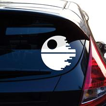 Death Star Inspired By Star Wars Decal Sticker for Car Window Laptop Motorcycle Walls Mirror and More Car Stickers and Decals wonder woman decal sticker for car window laptop motorcycle walls mirror and more car sticker car door protector car stickers