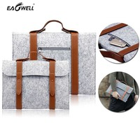 Universal 11 13 15 Inch Woolen Felt Laptop Cover Case Notebook Sleeve Bag Pouch For Apple