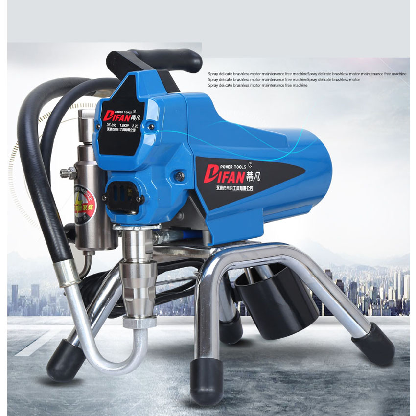 DF 395 Electric airless paint sprayer , Spray paint machine ,Airless sprayer