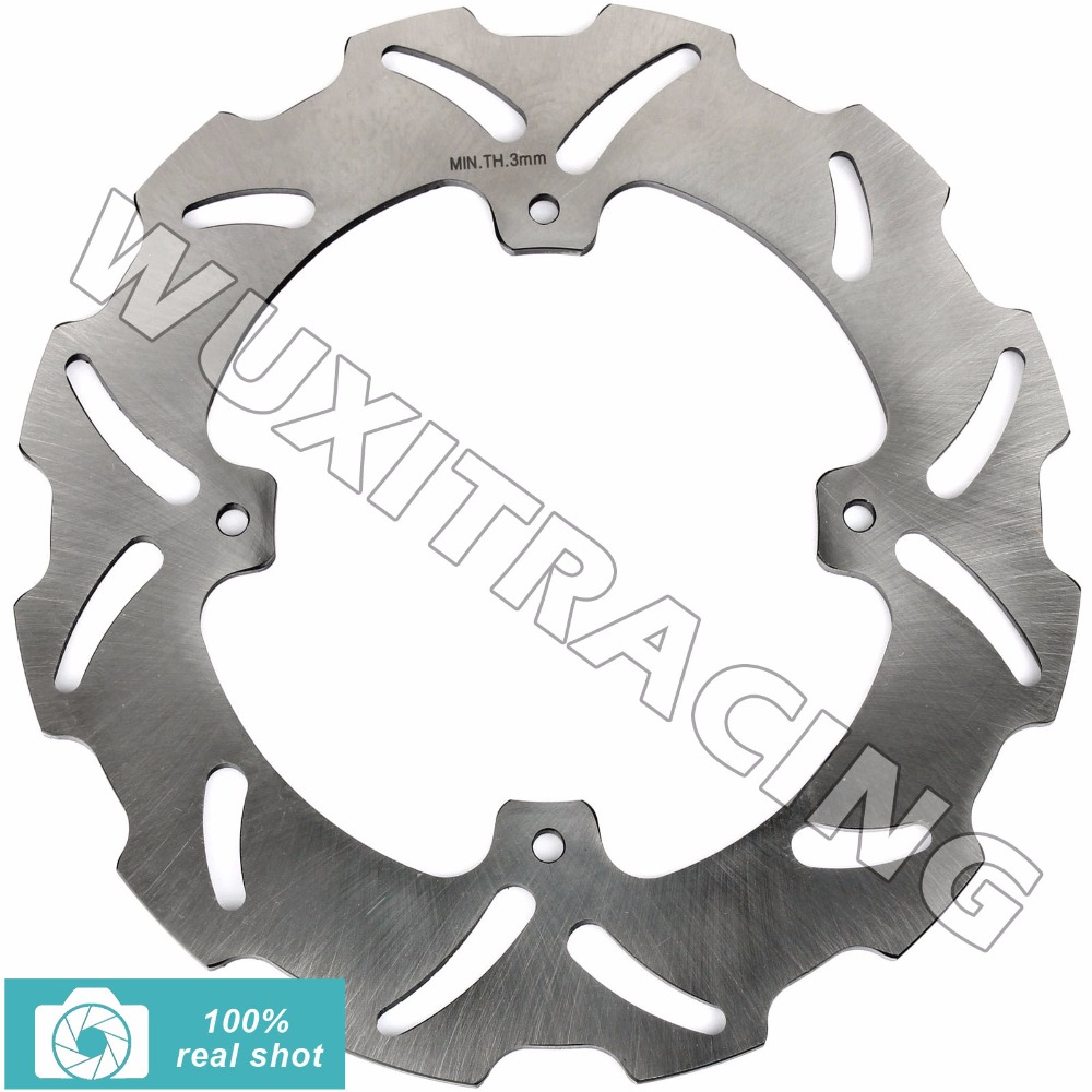 New Rear Brake Disc Rotor for HONDA CRF R- X SUPERMOTARD 250 450 04-09 HM CRF 150 230 R F ENDURO 2004 2005 2006 2007 2008 2009 yobangsecurity 5 units apartment video intercom 7 inch lcd wifi wireless video door phone doorbell video recording app control