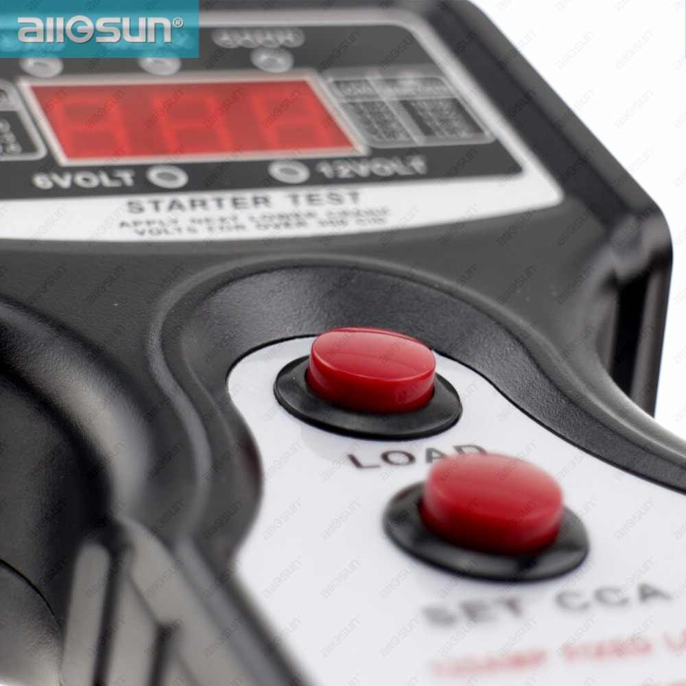 Testeur de batterie automobile/voiture numérique SUN 12V CCA pour température froide/charge de la batterie/tension de charge/démarreur EM577