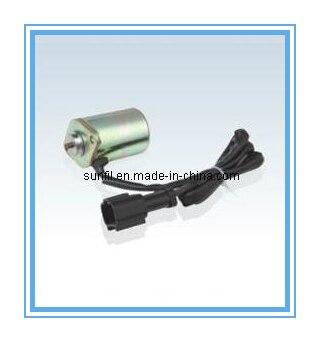 PC200-6, основной электромагнитный клапан насоса(6D102