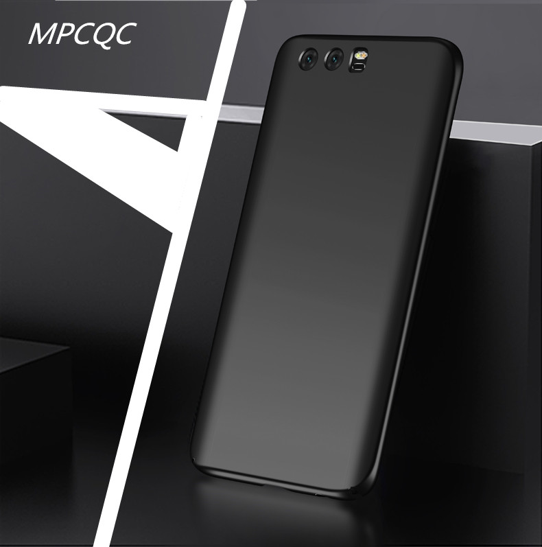 MPCQC Fashion Soft Matte Case For Huawei Honor 9 V9 Play/9 Lite 8 Lite/8 V10 P8 Lite 2017 Case 360 Degree Cover Plastic Cases