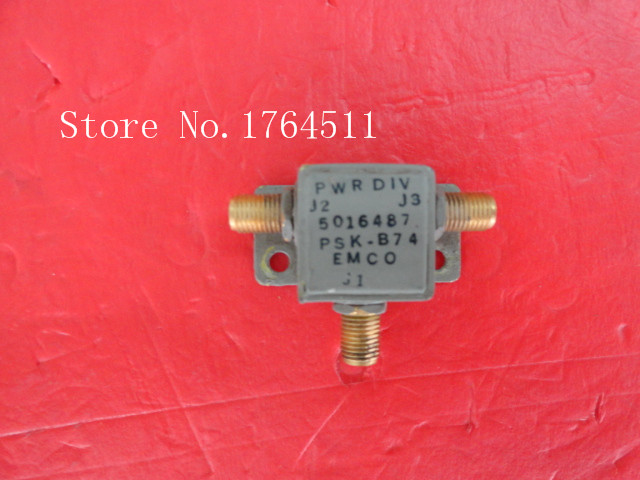 [BELLA] A Two EMCO Power Divider PSK-B74 SMA