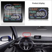 Car HUD Head Up Display For Audi A3 A4 A5 A6 A7 2015 2016 - Saft Driving Screen Projector Refkecting Windshield цена и фото