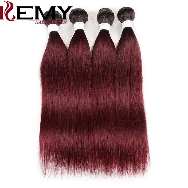 frontal ombre cor vermelha brasileira feixes de