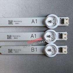3 peças 7led luz de fundo tira da lâmpada para lg 32 tv 32ln541v 32ln540v a1 B1-Type 6916l-1437a 6916l-1438a 6916l-1204a 6916l-1426a 63cm