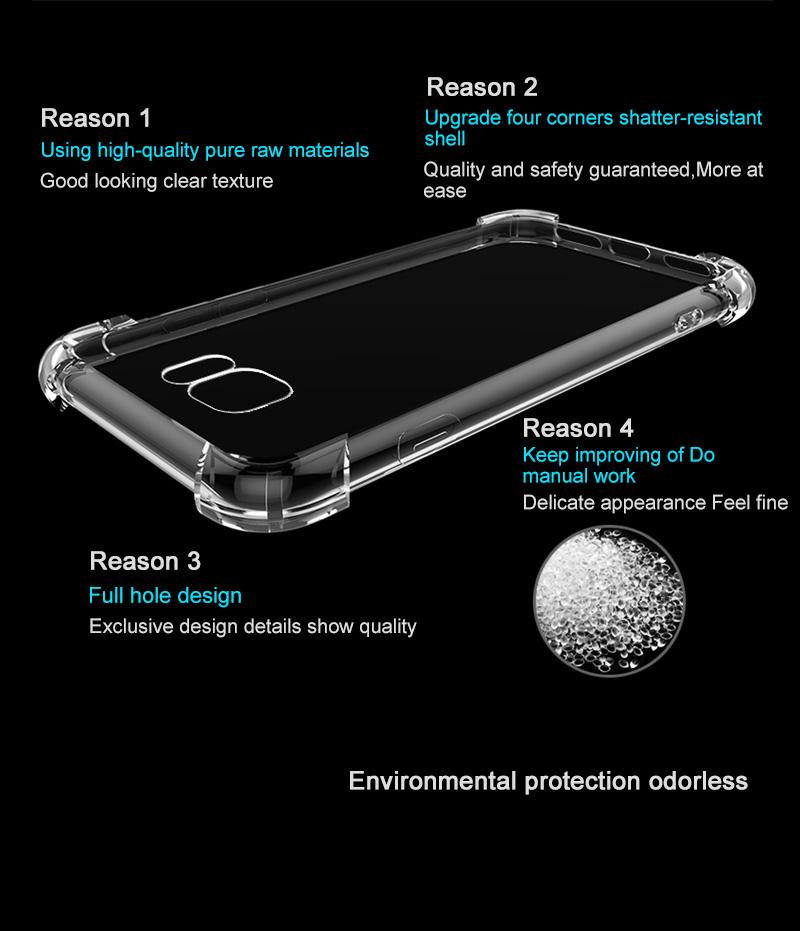 Clear Samsung Galaxy S8, S8 Plus Case 13