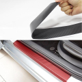 Car Door Sill Welcome Pedal Stickers For Mitsubishi OUTLANDER LANCER MIRAGE L200 G4 4pcs Car Accessories Candy Color