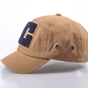 Free Shipping Baseball cap summer hats retro finishing cap three-dimensional embroidery letter