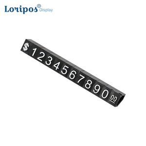 Большой комбинированный ценник в долларах, оснастка с цифрами и кубиками, одежда для телефона, ноутбука, витрины для ювелирных изделий, знак...