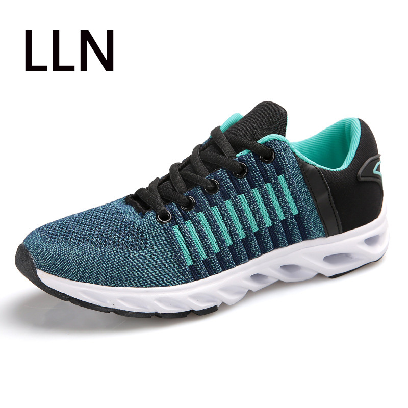 New Air Mesh Running Shoes For Men Sneakers Outdoor Breathable Comfortable Athletic Flat Shoes Women Shoes peak sport men outdoor bas basketball shoes medium cut breathable comfortable revolve tech sneakers athletic training boots