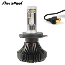 Autofeel H4 HB2 9003 Car-styling LED Headlight Lamp 168W/Pair 16000LM CSP Led Headlamps Automobiles Conversion Kit Front Bulbs