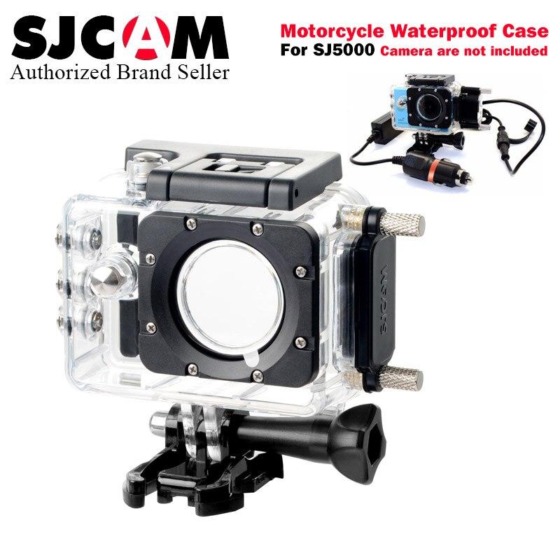 100% Original SJCAM sj5000 elite Motorcycle Waterproof Case Charger for Series SJ5000 Series Accessories for SJ5000X 4K sj5000