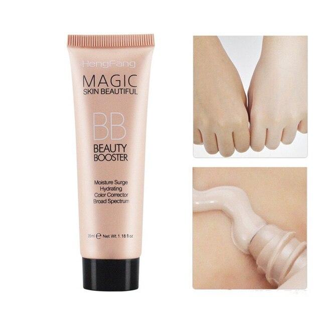 Base BB crema Corrector paleta cubierta ojos negros maquillaje Natural Corrector cara Facial BB crema