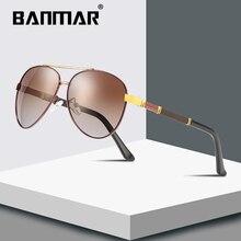 BANMAR Brand Design Sunglasses Men Driving Pilot Gradient Lens Sun Glasses Male Classic Unisex Goggles Eyewear Gafas De Sol