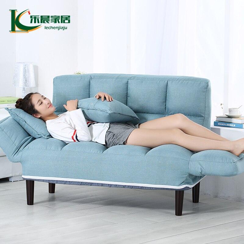 Usine Prix Simple Multifonctionnel Pliant canapé Lit Chaise de Bureau Chaise Pliante salon Canapé Inclinable