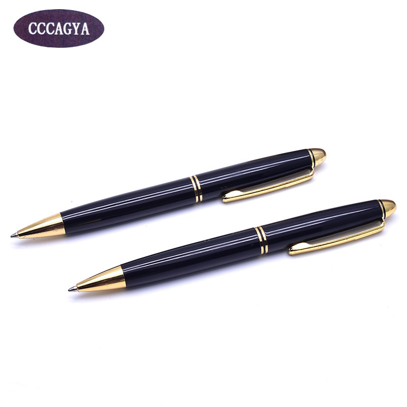 CCCAGYA C616 klasické rotační kovové kuličkové pero 424 G2 0,7 mm Naučte se kancelářskou školu Dárkové luxusní pero a obchodní Psací pero
