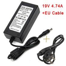 Универсальное зарядное устройство для ноутбука 65 W/90 W, зарядное устройство для ноутбука lenovo/hp/asus/toshiba, адаптер питания для нетбука, ноутбуков 19v 4,74, 19v 3.42a