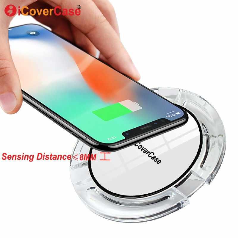 Беспроводное зарядное устройство для samsung Galaxy S3 S4 S5 Mini Note 2 3 4, беспроводное зарядное устройство, QI приемник, зарядная подставка, док-станция, чехол, аксессуары для телефона