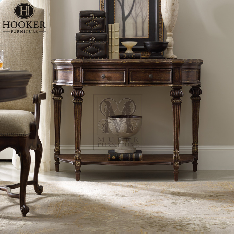 American neo classical antique console table living room furniture ...