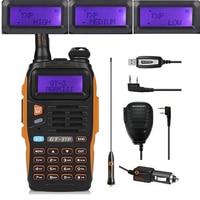 Baofeng GT-3TP Mark III Kit 1/4/8 Watt High Power VHF UHF Zwei-wege-radio Walkie Talkie Transciver mit Lautsprecher USB Programmierung kabel