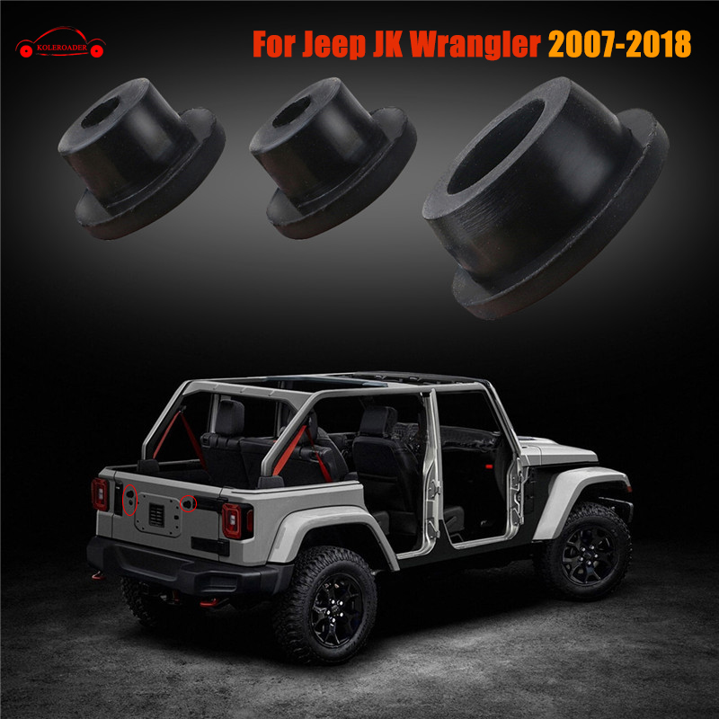 For 2007 2018 Jeep Wrangler JK Tailgate Durable Small ...