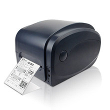 PET cable label, PVC,jewelry tags Label  barcode printe Printing Width 20-104mm Bar code printer GP1124T