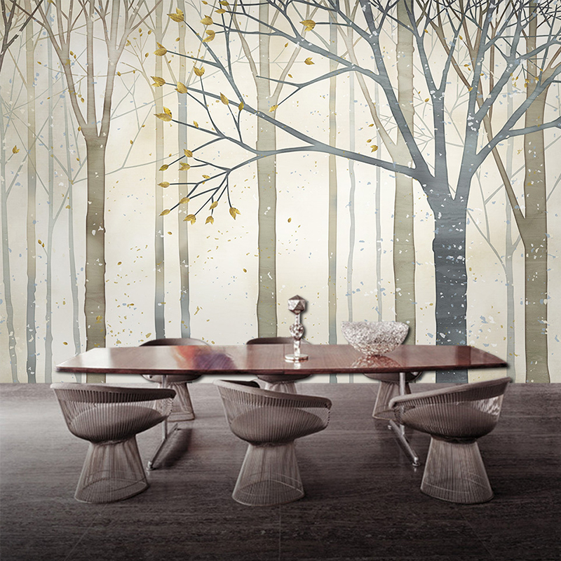 Custom Photo Wall Murals Abstract Nostalgic Woods Contact 3d Photo Wallpaper for Living Room Sofa Walls 3 d Wall Paper Wall Mura custom 3d photo wallpaper for walls 3 d wall murals wallpaper 3d european style white building palace living room tv wall paper