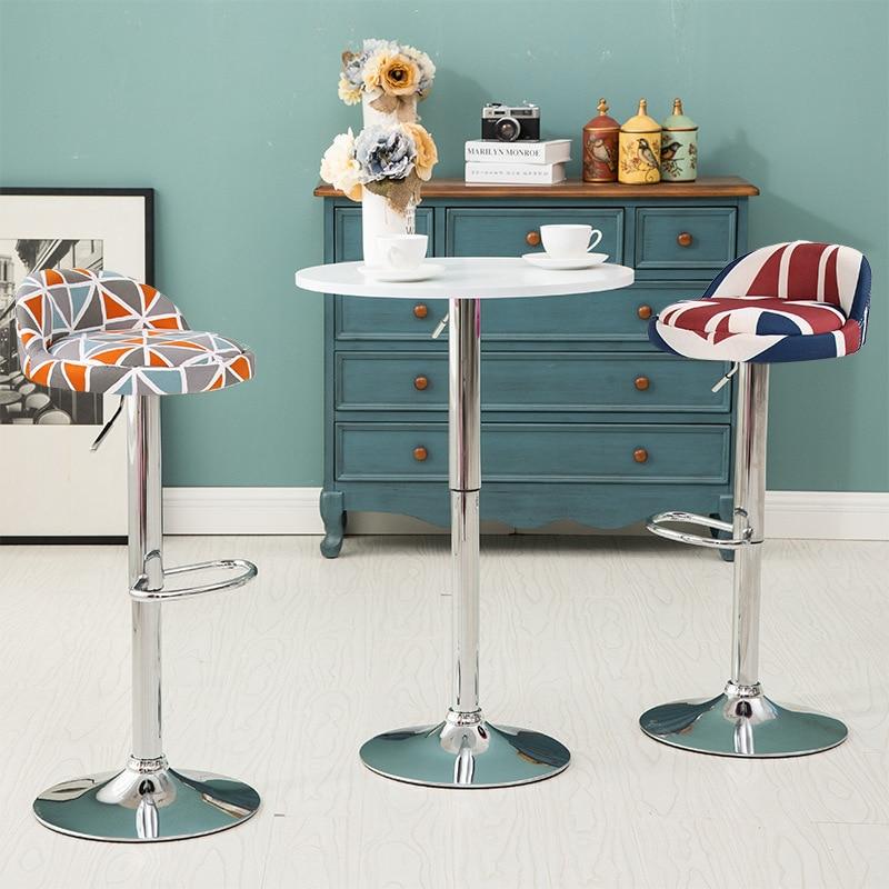 Mode simple européenne de haute qualité confortable la chaise de réception levage tabouret de bar chaise tabourets de bar livraison gratuite