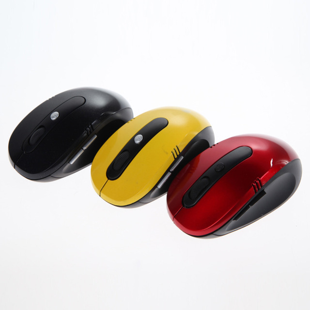 Portable Optical Wireless Mouse for Laptop