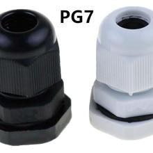10PCS high quality IP68 PG7 for 3-6.5mm waterproof nylon sea