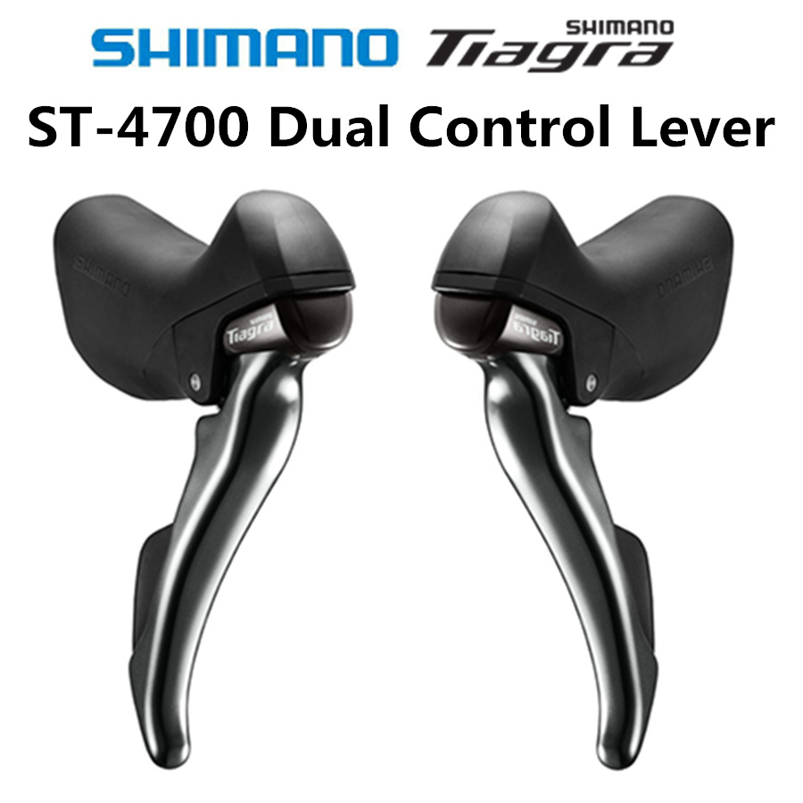 SHIMANO TIAGRA ST 4700 Dual Control Lever 2x10 Speed ST 4700 ...