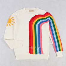 f2ab4967614e Buy girl stripe sweater and get free shipping on AliExpress.com