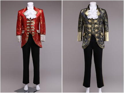 Custom 2016 High Quality Red Sapphire 18th Century European Court