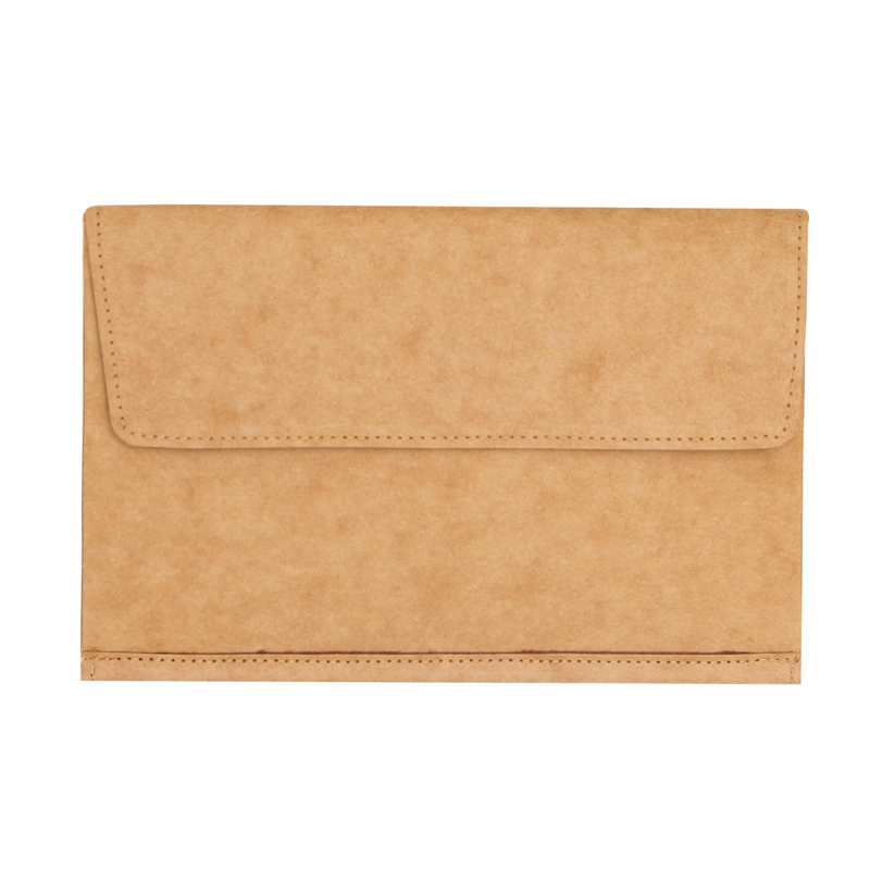 Enviroment Protecting Washable Kraft Paper Mini File Folder Office Business Bill Document Bag with Invisible Magnet D4796-1 домкрат kraft кт 800026