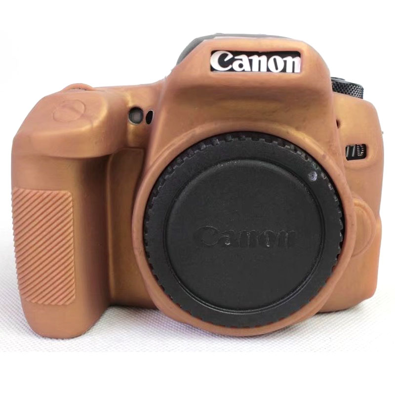 US $14 17 25% OFF|High Quality Colorful Silicone Camera Cover for Canon EOS  77D Soft Rubber Camera Case Skin for Canon 77D SLR Camera Case Bag-in