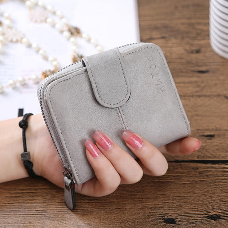 Korean Brand Design Women Faux Suede Leather Wallets Coin Bag Small Wallet Purse Mini Zipper Hasp Short Lady Purse Crad Holder 2017 genuine cowhide leather brand women wallet short design lady small coin purse mini clutch cartera high quality