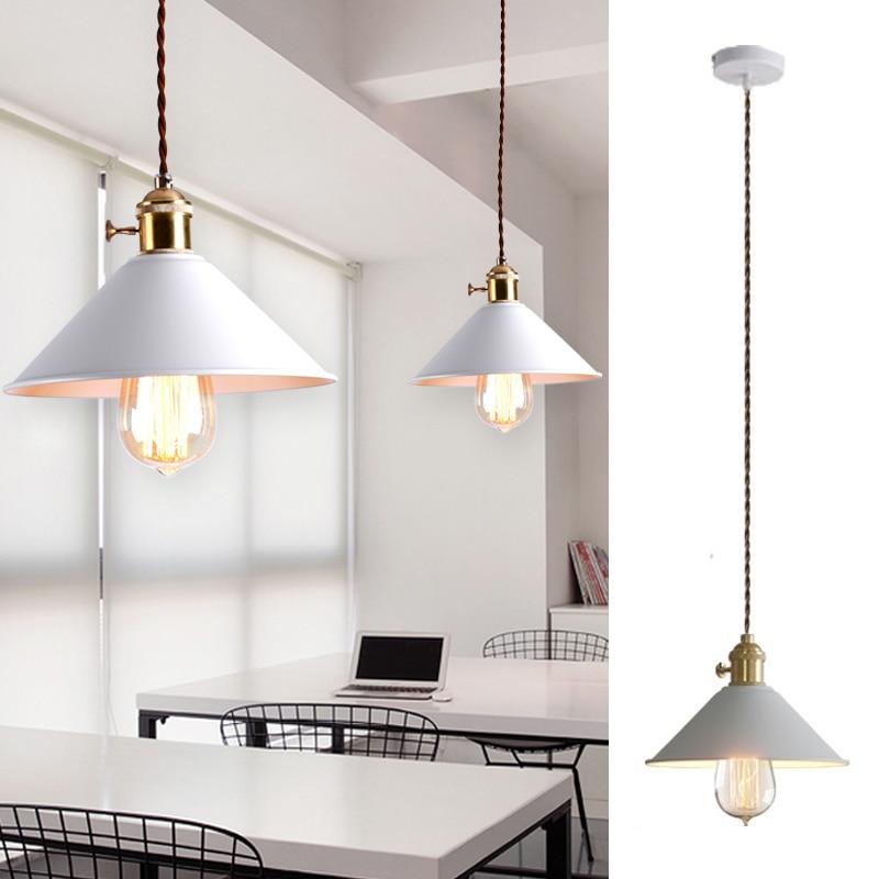 Kitchen Pendant Light Bedroom Lamp Bar Ceiling Light: White Pendant Light For Kitchen Island Metal Lighting