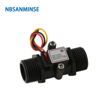 NBSANMINSE SMF-S201C G1/2 Inch Water flow sensor High Quality Used for heaters Campus swipe machine vending machines