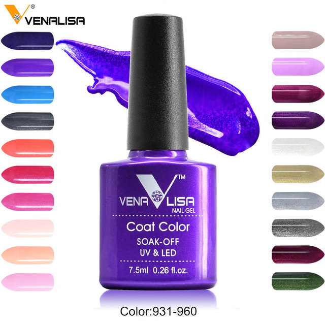 #61508 Prego Fonte Da Fábrica Novo Venalisa 60 Cor Embeber Off UV Gel Nail Art Design Pintura Laca Unha Polonês UV Verniz para As Unhas de Gel