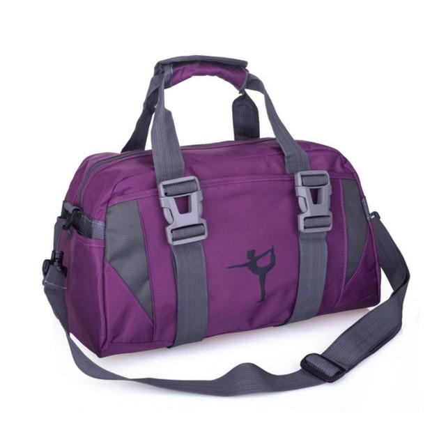 cbe30613732 Nieuwe Sport Training Fitness Tas Vrouwen Sport Buiten Sporttas Bagage Sack  Vrouwelijke Schouder Yoga Pack Bag