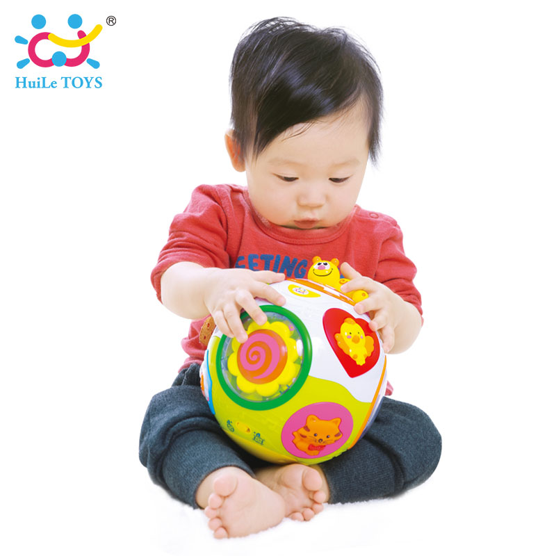 HUILE-TOYS-938-Baby-Toys-Toddler-Crawl-Toy-with-Music-Light-Teach-ShapeNumberAnimal-Kids-Early-Learning-Educational-Toy-Gift-1